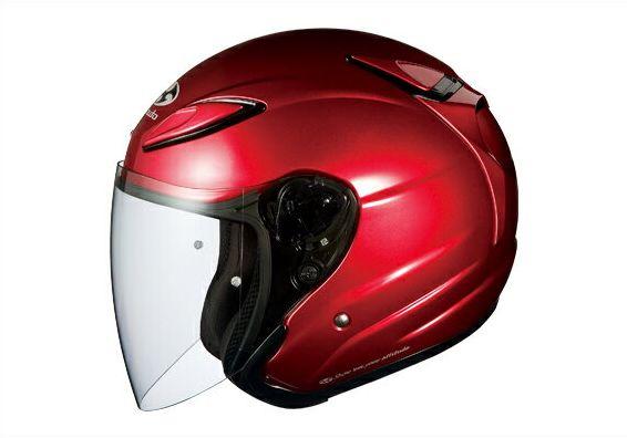 アヴァンド2 シャイニーレッド サイズ:L(59-60cm未満)ジェットヘルメット OGK(オージーケー)