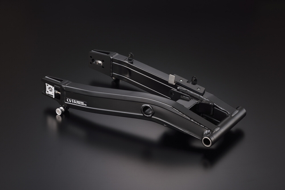 スイングアーム タイプ7 ブラック OVER(オーバーレーシング) YZF-R3(19年)