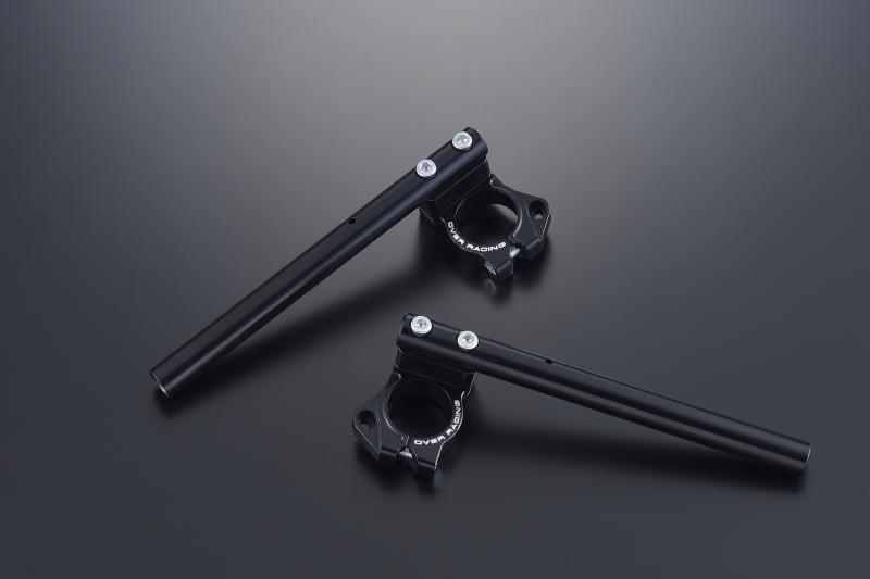 YZF-R25 スポーツライディング ハンドルキット ブラックアルマイト仕上げ OVER(オーバーレーシング)