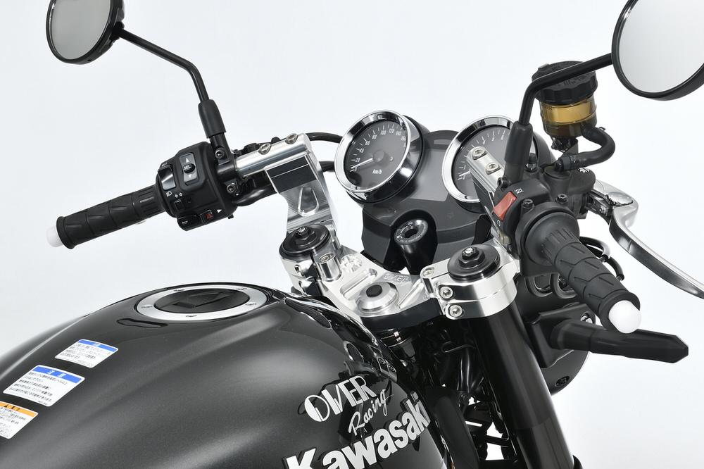 スポーツライディング ハンドルキット ブラック OVER(オーバーレーシング) Z900RS
