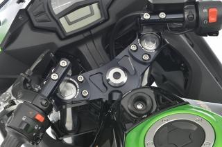 Ninja400(ニンジャ)14年~ スポーツライディング ハンドルキット ブラック OVER(オーバーレーシング)