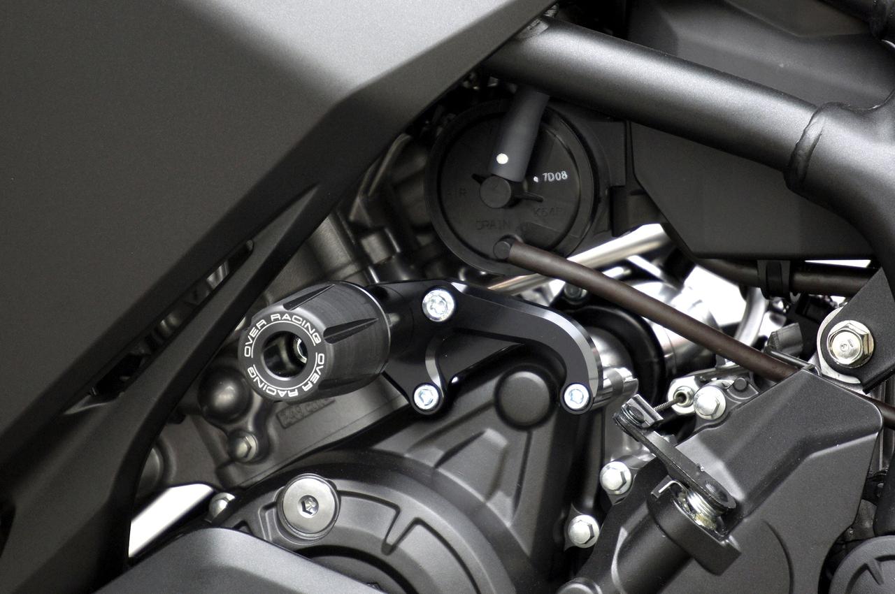 レーシングスライダー ブラック OVER(オーバーレーシング) CBR250RR(17年)