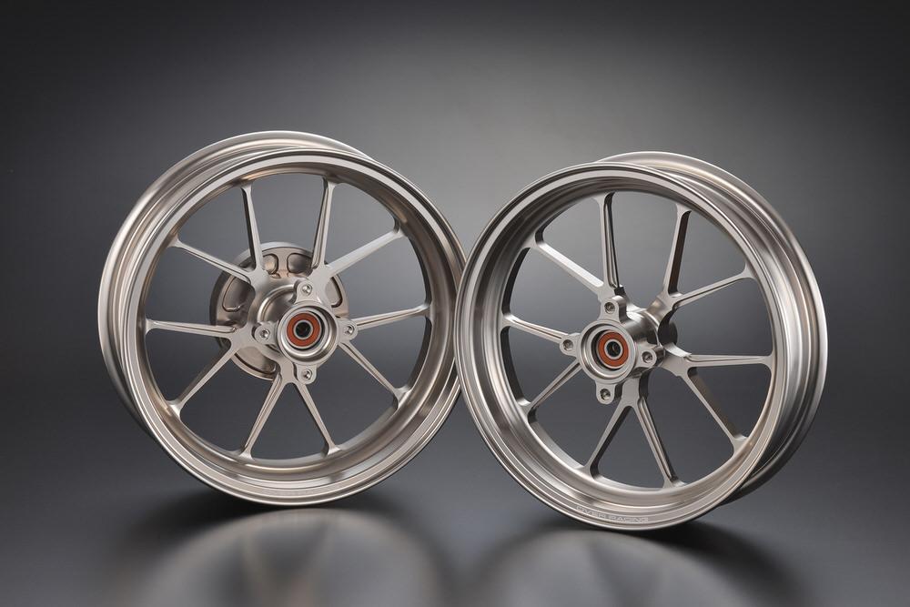 GP-TEN ホイールセット チタン 2.70/3.50-12 OVER(オーバーレーシング) モンキー125(2BJ-JB02)
