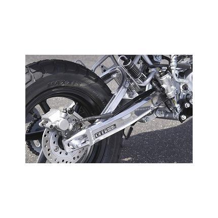 スイングアーム OVタイプ スタビ付 10cmロング(ディスク) OVER RACING(オーバーレーシング) XR100