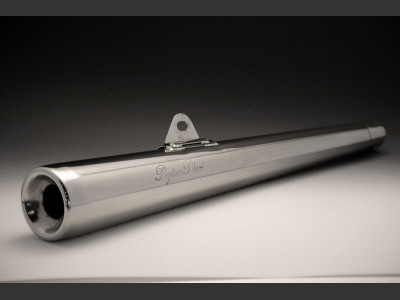 ステンレスコンチマフラー JMCA認定ver ペイトンプレイス(PeytonPlace) SR400