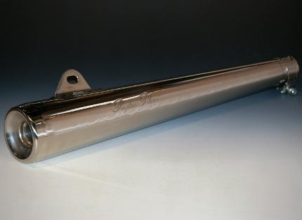 SR400/SR500 ショートコンチマフラー(Wサイレンサーモデル) ペイトンプレイス(PeytonPlace)