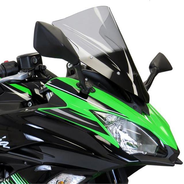 スポーツエアフロ-スクリーン イリジウムシルバー Powerbronze(パワーブロンズ) Ninja650(17年)
