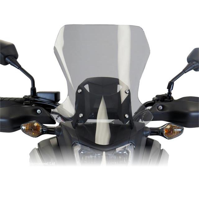 500mm スポーツフリップスクリーン クリア Powerbronze(パワーブロンズ) NC750X(16~17年)
