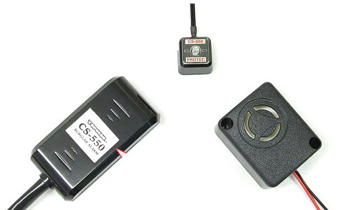 CS-550M スマートアラーム 12Vバイク用盗難警報機 PROTEC(プロテック)