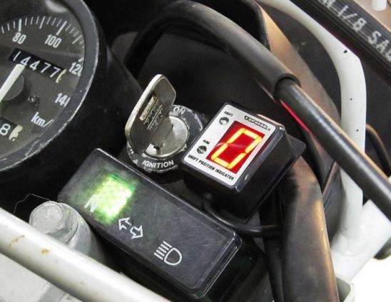 ジェベル200(DJEBEL)99~05年 SPI-S47 シフトポジションインジケーター車種専用キット PROTEC(プロテック)