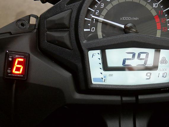 Ninja400(ニンジャ)14年~ SPI-K53 シフトポジションインジケーター車種専用キット PROTEC(プロテック)