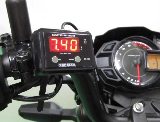 Z125 PRO(プロ) デジタルフューエルマルチメーター DG-K07 PROTEC(プロテック)