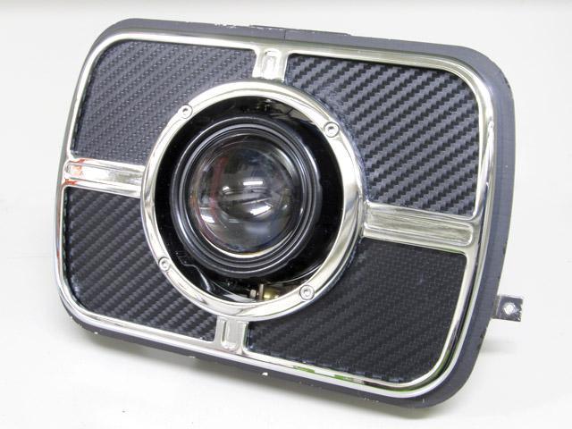 LH-3170 LEDプロジェクターヘッドライト 角目タイプ 3000K PROTEC(プロテック) ZRX1200 DAEG(ダエグ)