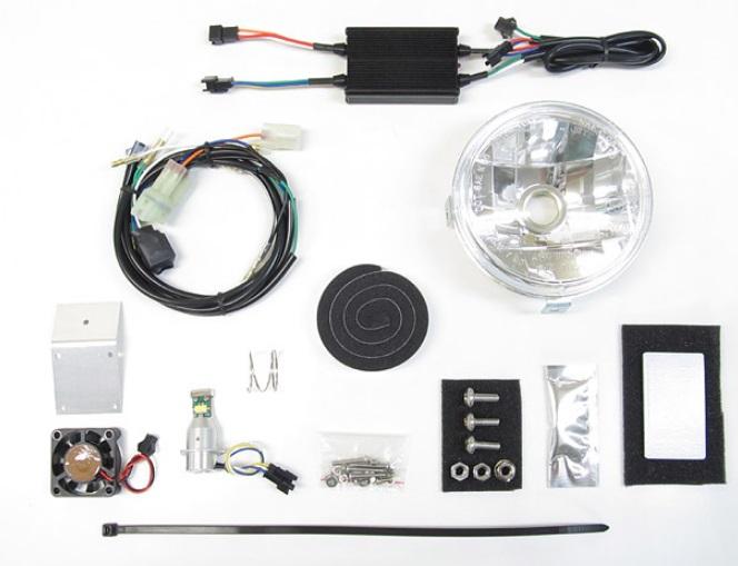 LBH-H08 LEDマルチリフレクターヘッドライトキット 3000K PROTEC(プロテック) クロスカブ110(JA45)