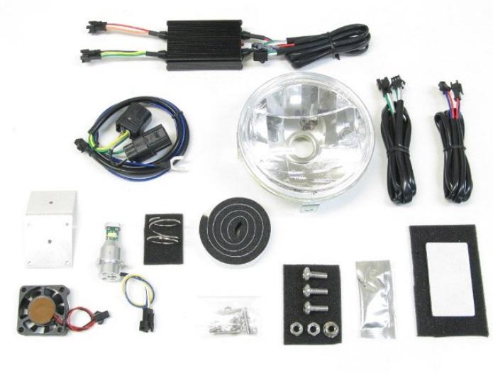 3000K LBH-H14 LEDマルチリフレクターヘッドライトキット スーパーカブ110プロ PROTEC(プロテック)