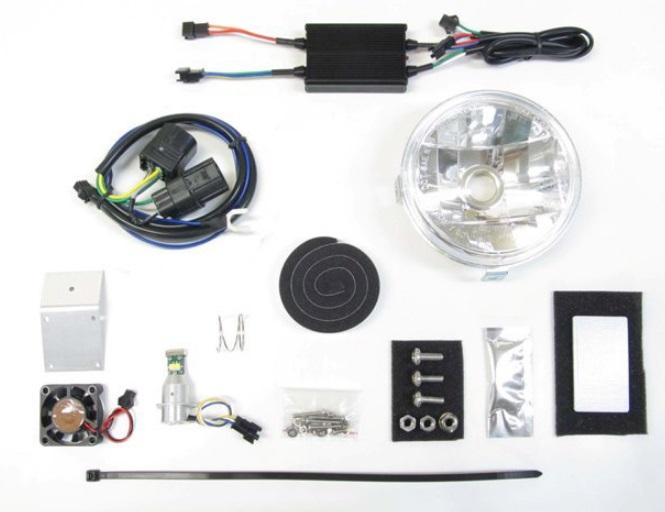 LBH-H17 LEDマルチリフレクターヘッドライトキット 6000K PROTEC(プロテック) クロスカブ50(AA06)