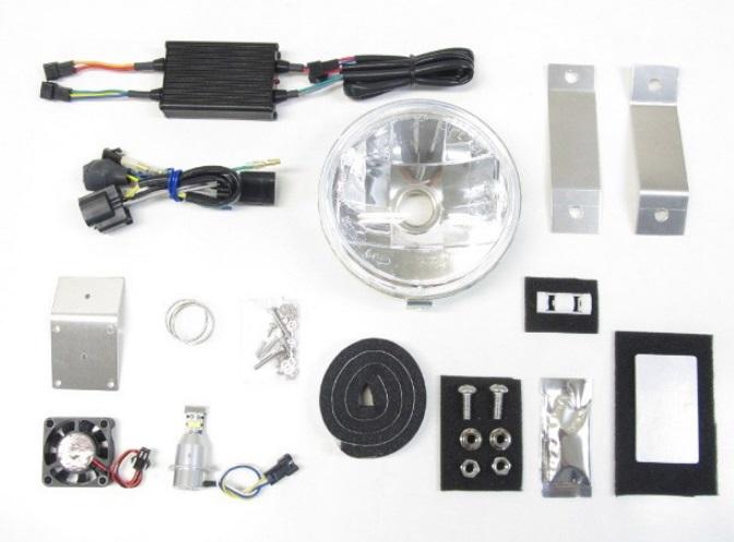 LBH-H25 LEDマルチリフレクターヘッドライトキット 6000K PROTEC(プロテック) スーパーカブC125