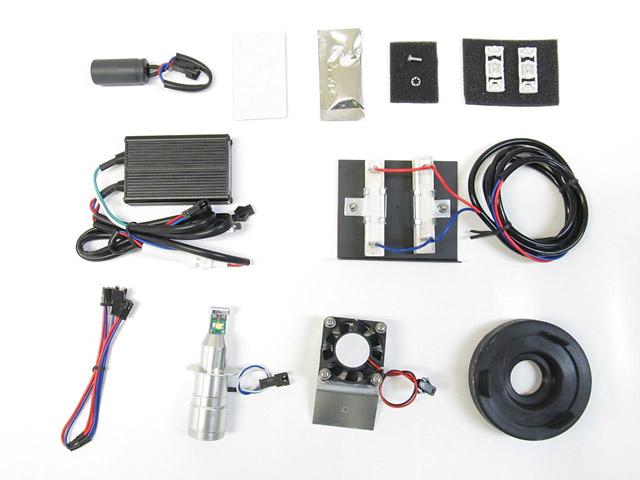 サイクロンシリーズLB7-BX LEDヘッドライトバルブキット H7 ※Lo側専用 6000K PROTEC(プロテック) BMW S1000XR(15~16年)
