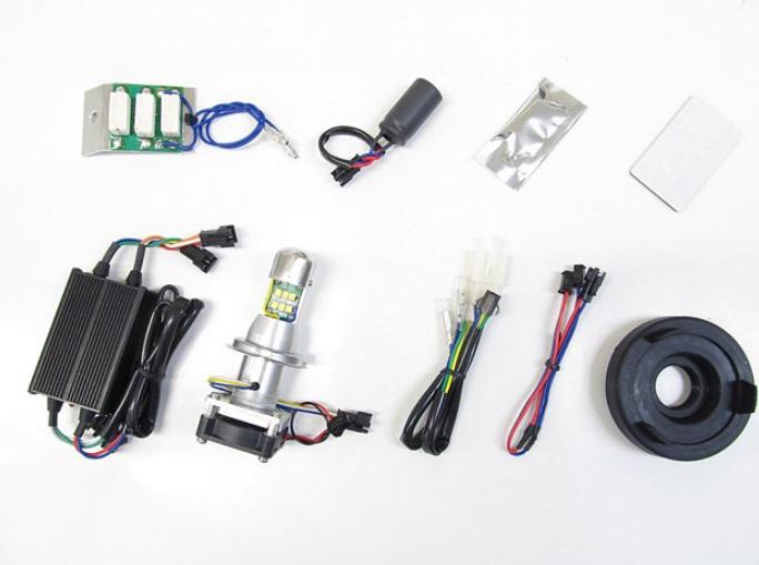 LB4-KSR LEDヘッドライトバルブキット HS1 Hi/Lo 6000K PROTEC(プロテック) KSR110PRO