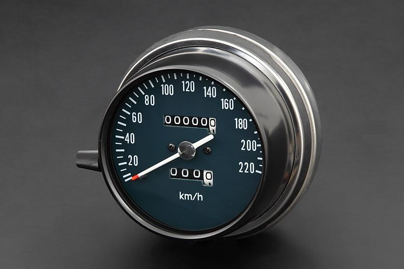 送料無料 CB750K 春の新作 3-6 スピードメーター PMC 220km表示 ◆高品質 ピーエムシー
