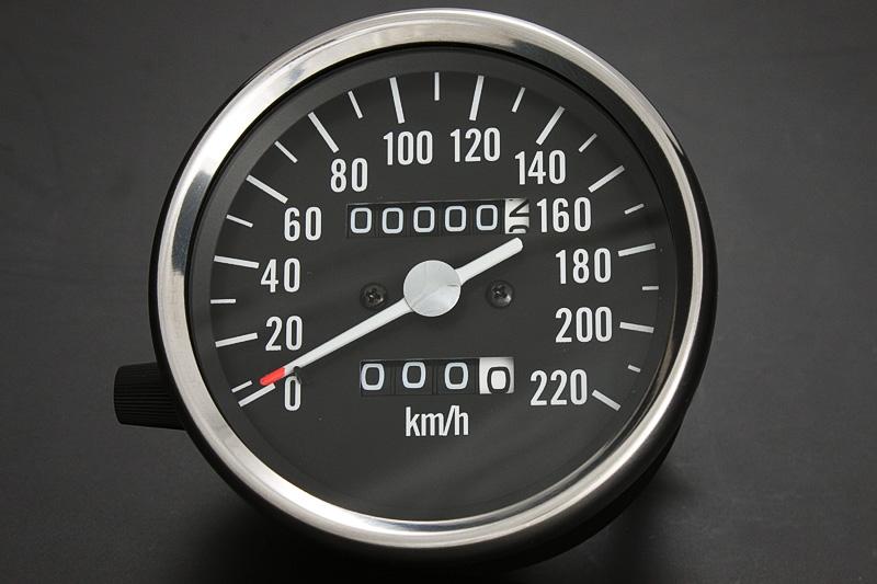 500SS・KH500(H1) スピードメーター ブラックボディ PMC(ピーエムシー)