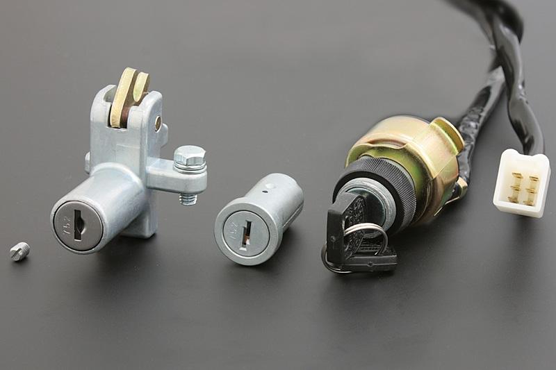 Z750D1 メインスイッチ&ロックセット PMC(ピーエムシー)