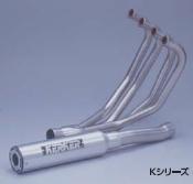 ゼファー400(ZEPHYR) 89年~ K Series フルシステム SBタイプ ブラック KERKER(カーカー)