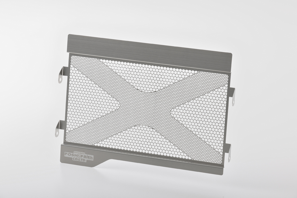 MT-07/ABS ラジエターコアガード ステンレス POSH(ポッシュ)