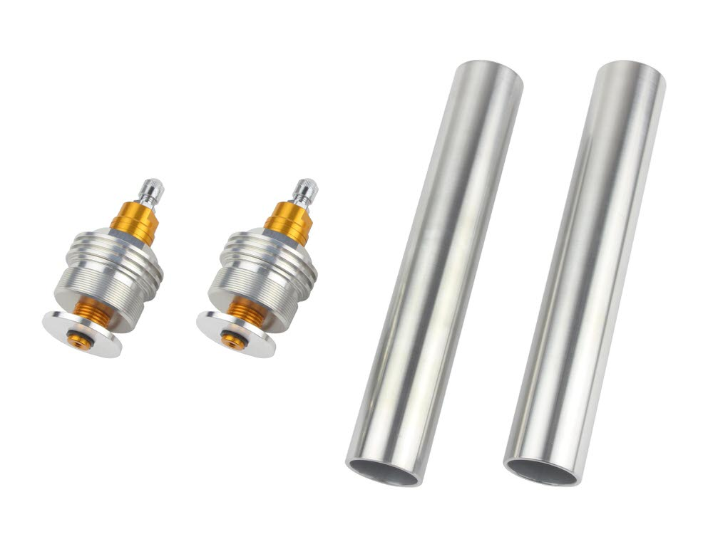 イニシャルアジャスターTYPE1 エアバルブ付 ゴールド POSH(ポッシュ) CB400SF/VersionS/V-TEC・SPEC2/3
