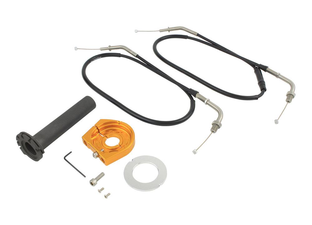 スムーススリムラインハイスロットルキット ゴールド POSH(ポッシュ) Z900RS