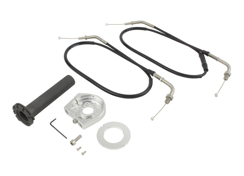 スムーススリムラインハイスロットルキット シルバー POSH(ポッシュ) Z900RS