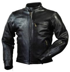 RA5031 ベンテッドライディングレザージャケット ブラック XLサイズ ラフアンドロード(Rough&Road)