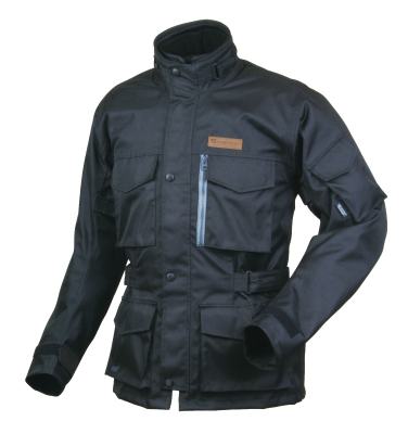 RR4005 SSFトレイルツーリングジャケット ブラック BLサイズ ラフアンドロード(Rough&Road)