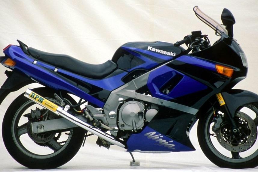 ZZR400(90~92年) RPM-67Racing(レーシング)マフラー(ステンレスサイレンサーカバー) RPM