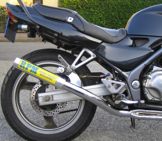 バリオス1(BALIUS)91~99年 RPM-67Racing(レーシング)マフラー(ステンレスサイレンサーカバー) RPM