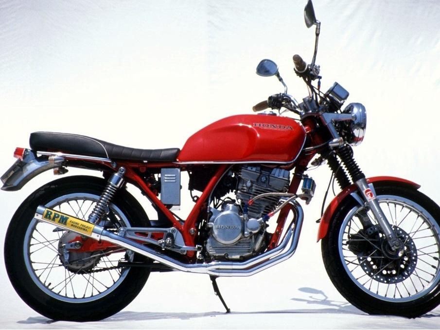 GB250(クラブマン)87年~ RPMマフラー(ステンレスサイレンサーカバー) RPM