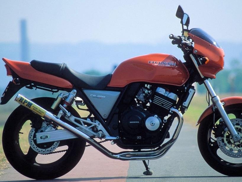 CB400SF Ver,R/S(95~99年) RPM-67Racing(レーシング)マフラー(ステンレスサイレンサーカバー) RPM