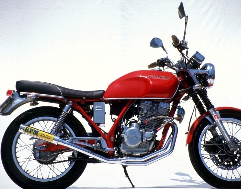 GB250(クラブマン)87年~ RPM-67Racing(レーシング)マフラー(ステンレスサイレンサーカバー) RPM