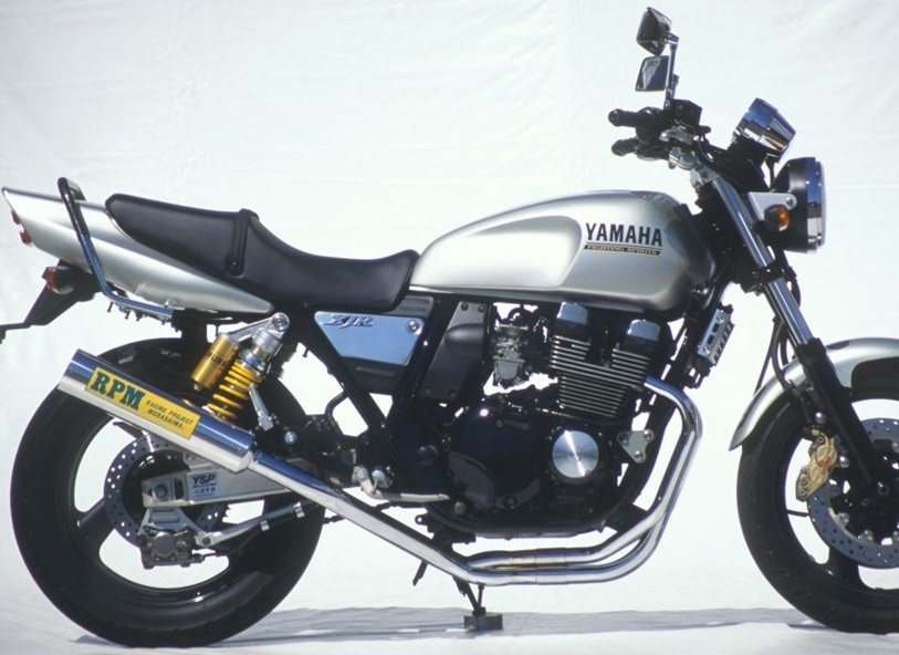 XJR400(STD/S/R)93~00年 RPM-4-2-1マフラー ステンレスサイレンサーカバー JMCA認定 RPM