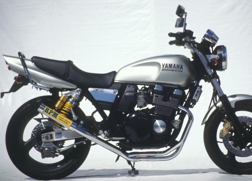 XJR400(STD/S/R)93~00年 RPM-67Racing(レーシング)マフラー(ステンレスサイレンサーカバー) RPM