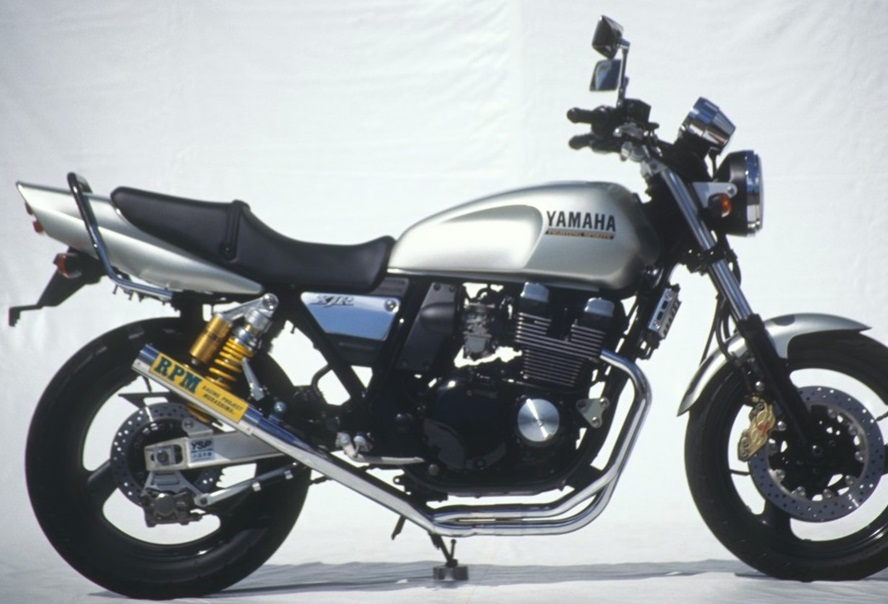 XJR400(01年~) RPM-67Racing(レーシング)マフラー(ステンレスサイレンサーカバー) RPM