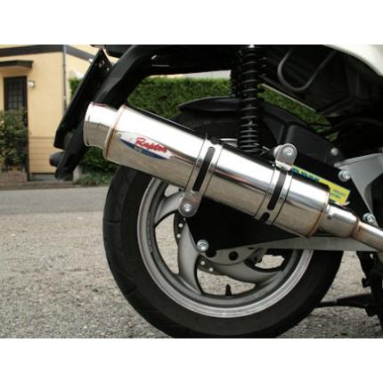 RPM-80D RAPTOR(ラプター)ステンレスフルエキマフラー RPM G-Max150 Alloro125 RFVM2UC53 RFVM2UCC1