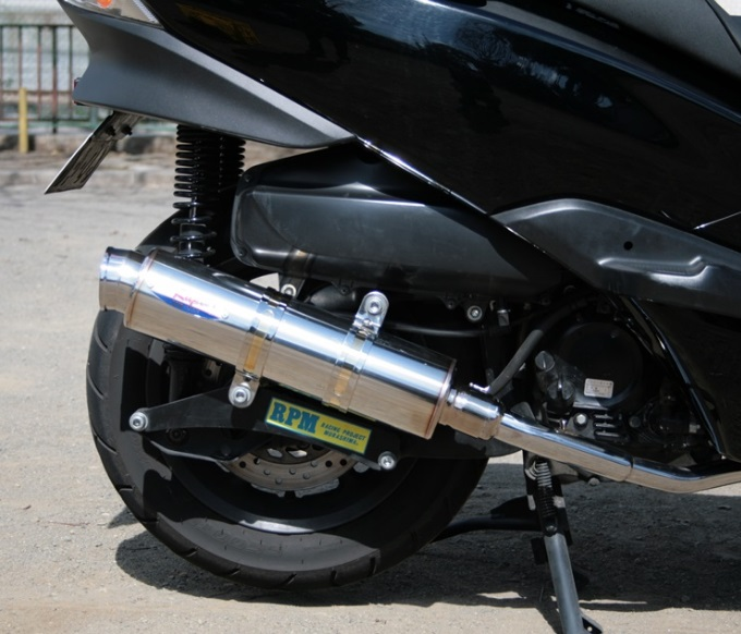 フォルツァ(FORZA)MF10 80D-RAPTOR(ラプター) チタンフルエキゾーストマフラー 政府認証 RPM