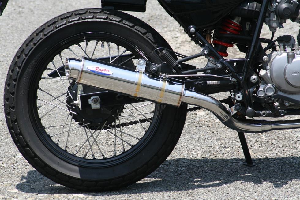 FTR223 80D-RAPTOR(ラプター) ステンレスフルエキゾーストマフラー RPM