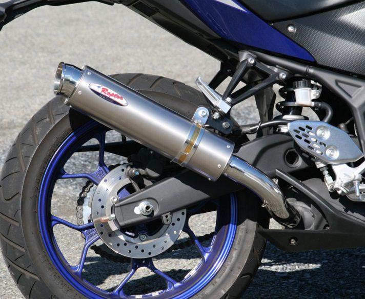 80D-RAPTOR(ラプター)Titan スリップオンマフラー RPM MT-25(JBK-RG10J)