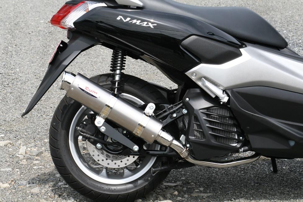 NMAX(エヌマックス)SE86J 80D-RAPTOR(ラプター)チタンフルエキゾーストマフラー(政府認証品) RPM