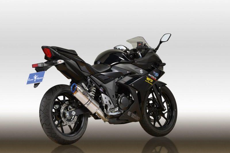 本物品質の Wyvern Real Spec Type Type S Real スリップオンマフラー チタンドラッグブルー r's gear(アールズギア) Spec GSX250R(2BK-DN11A), 亀仙人:0dd5ea7c --- paulogalvao.com
