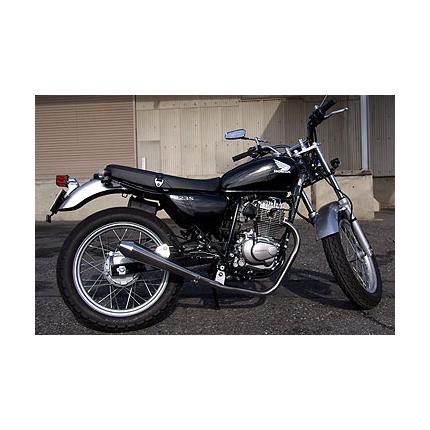 RSYビューティーメガホンマフラー RSヨコタ(RS YOKOTA) CB223S(MC40)