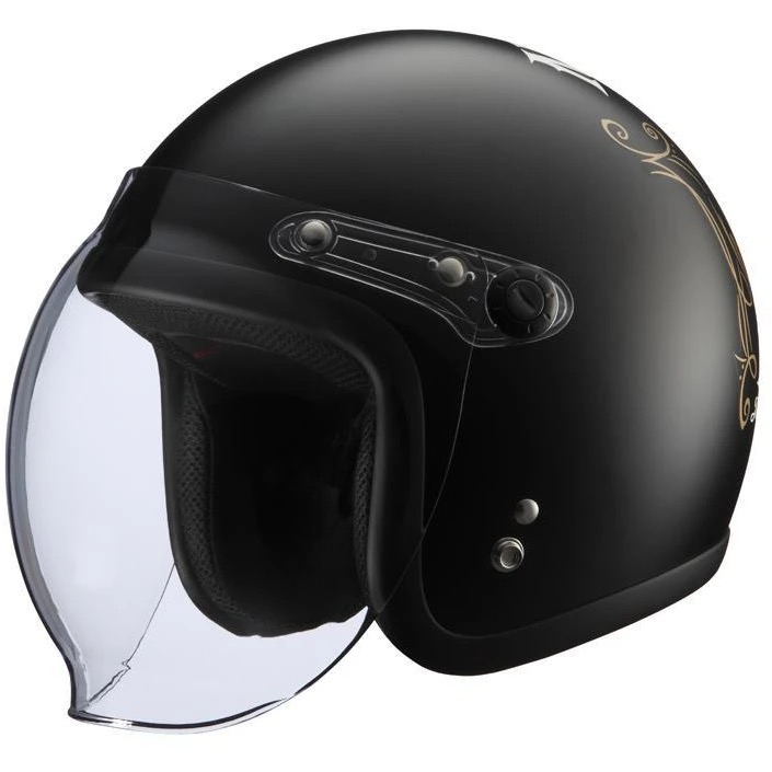 KNUCKLE HEAD NoGutsNoGlory2 ヘルメット マット ブラック RIDEZ(ライズ)