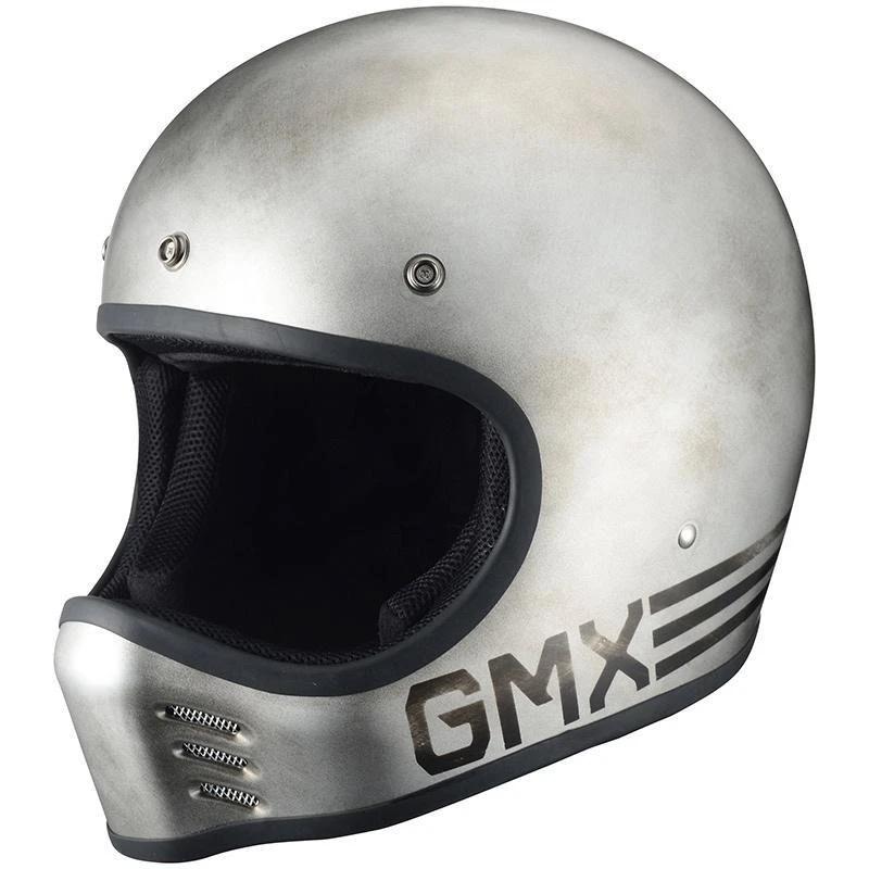 G-MX LTD Steely ヘルメット シルバー/ブラック RIDEZ(ライズ)